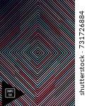 minimal cover template. flat... | Shutterstock .eps vector #731726884