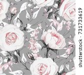 Seamless Pattern With Pink ...
