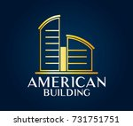 real estate  building ... | Shutterstock .eps vector #731751751