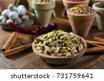 most expensive spice in the... | Shutterstock . vector #731759641
