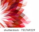 red abstract template for card... | Shutterstock .eps vector #731769229