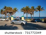 deerfield beach  florida usa  ... | Shutterstock . vector #731772349