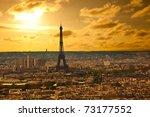 Paris Skyline From The Sacre...