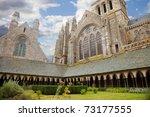 Mont Saint Michel Cloister ...