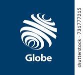 template logo design globe.... | Shutterstock .eps vector #731777215