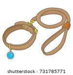 dog collar | Shutterstock .eps vector #731785771