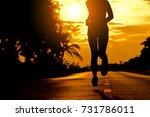 silhouette beautiful woman...   Shutterstock . vector #731786011