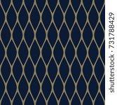 golden openwork pattern