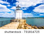 Small photo of South Portland, Maine, USA at the Portland Breakwater Light.