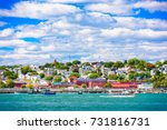 Portland  Maine  Usa Coastal...