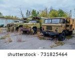 Derelict Military Trucks In...