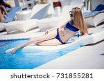odessa  ukraine may 24  2014 ... | Shutterstock . vector #731855281