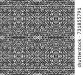 ethnic design. striped... | Shutterstock . vector #731855791
