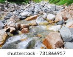 the beauty of mountain yari ... | Shutterstock . vector #731866957