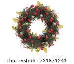 Christmas Wreath Tradiotional...