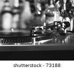 record player with bottles in... | Shutterstock . vector #73188