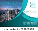 presentation layout design... | Shutterstock .eps vector #731883934