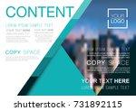 presentation layout design... | Shutterstock .eps vector #731892115