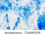 abstract of the white fabric... | Shutterstock . vector #731895529