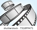 cinema   movie and photography... | Shutterstock .eps vector #731899471