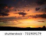 sunset colors. | Shutterstock . vector #731909179
