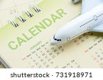 flight program or plan and... | Shutterstock . vector #731918971