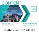 presentation layout design... | Shutterstock .eps vector #731933107