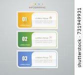 infographics design template... | Shutterstock .eps vector #731949931