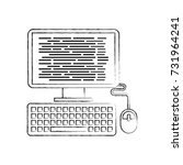 computer programm coding web... | Shutterstock .eps vector #731964241