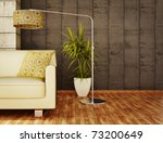 modern interior room with nice...   Shutterstock . vector #73200649