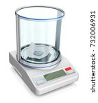 laboratory scales measuring the ...   Shutterstock . vector #732006931
