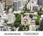 aerial view of the st. james... | Shutterstock . vector #732022825