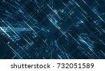 Digital Binary Code Matrix...