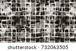gray seamless pattern.... | Shutterstock . vector #732063505