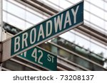 Street Sign On The Corner Of...