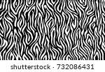 zebra print  animal skin  tiger ... | Shutterstock .eps vector #732086431