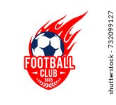Football Club Icon Template Of...