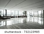 luxury lobby interior. | Shutterstock . vector #732123985