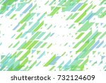 seamless repeating blue scales... | Shutterstock . vector #732124609