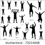 sport fans   Shutterstock .eps vector #73214608