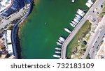 aerial birds eye view photo... | Shutterstock . vector #732183109