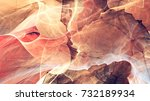 abstract red motion composition.... | Shutterstock . vector #732189934
