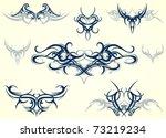 tribal art | Shutterstock .eps vector #73219234