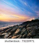 Beautiful Seascape. Composition ...