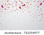 celebration background template ... | Shutterstock .eps vector #732254977