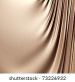 Abstract brown background. Clean, detailed render. Series. - stock photo