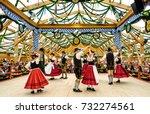 munich  germany   september 21  ... | Shutterstock . vector #732274561