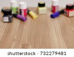 creative background with... | Shutterstock . vector #732279481