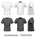 vector illustration. men's t... | Shutterstock .eps vector #73231453
