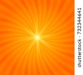 abstract sun burst background.... | Shutterstock .eps vector #732344641
